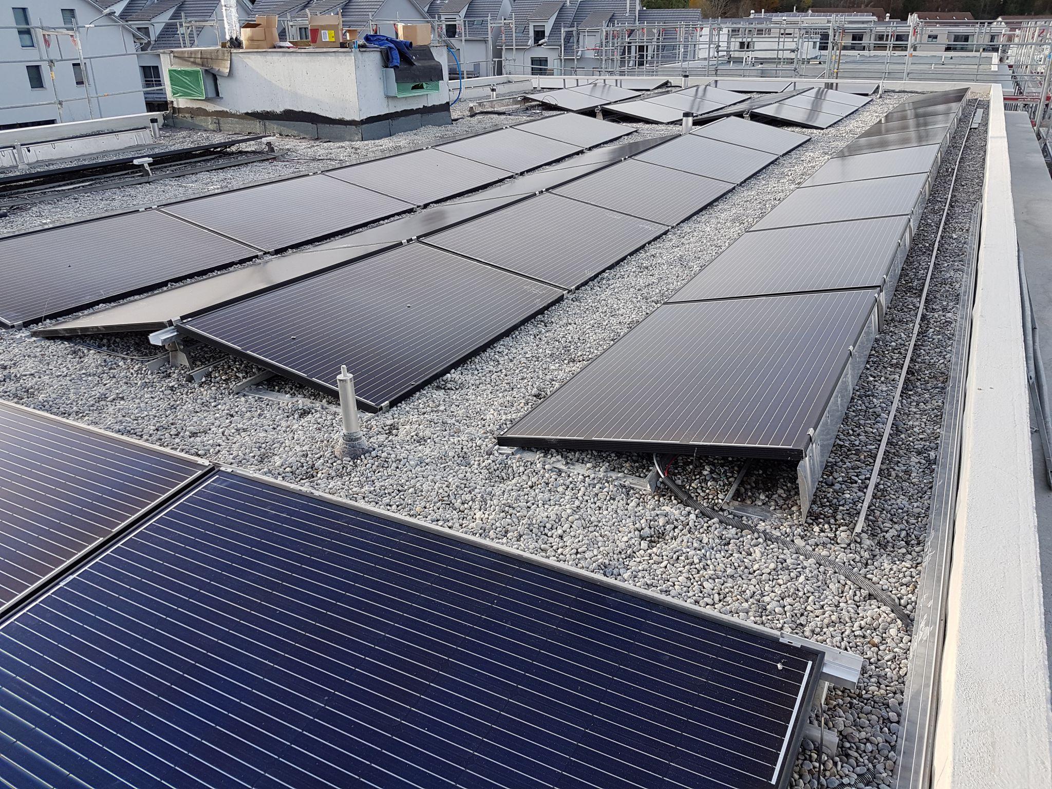 Solaranlagen Gemeinde Maur im Gütsch