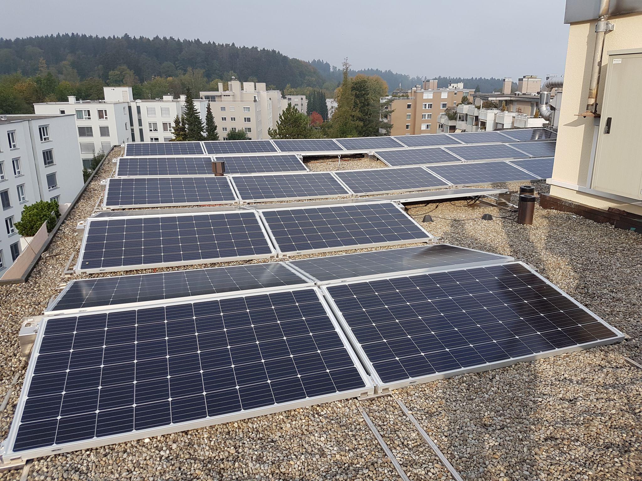 Solaranlag, In der Gand 4 Zumikon