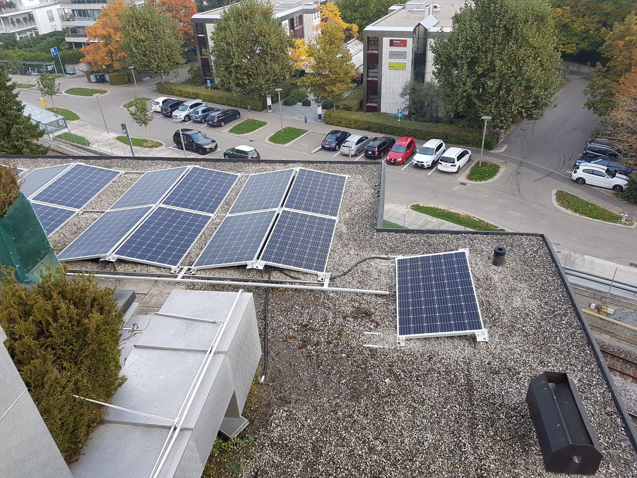 Solaranlage mit optimalem Eigenverbrauch