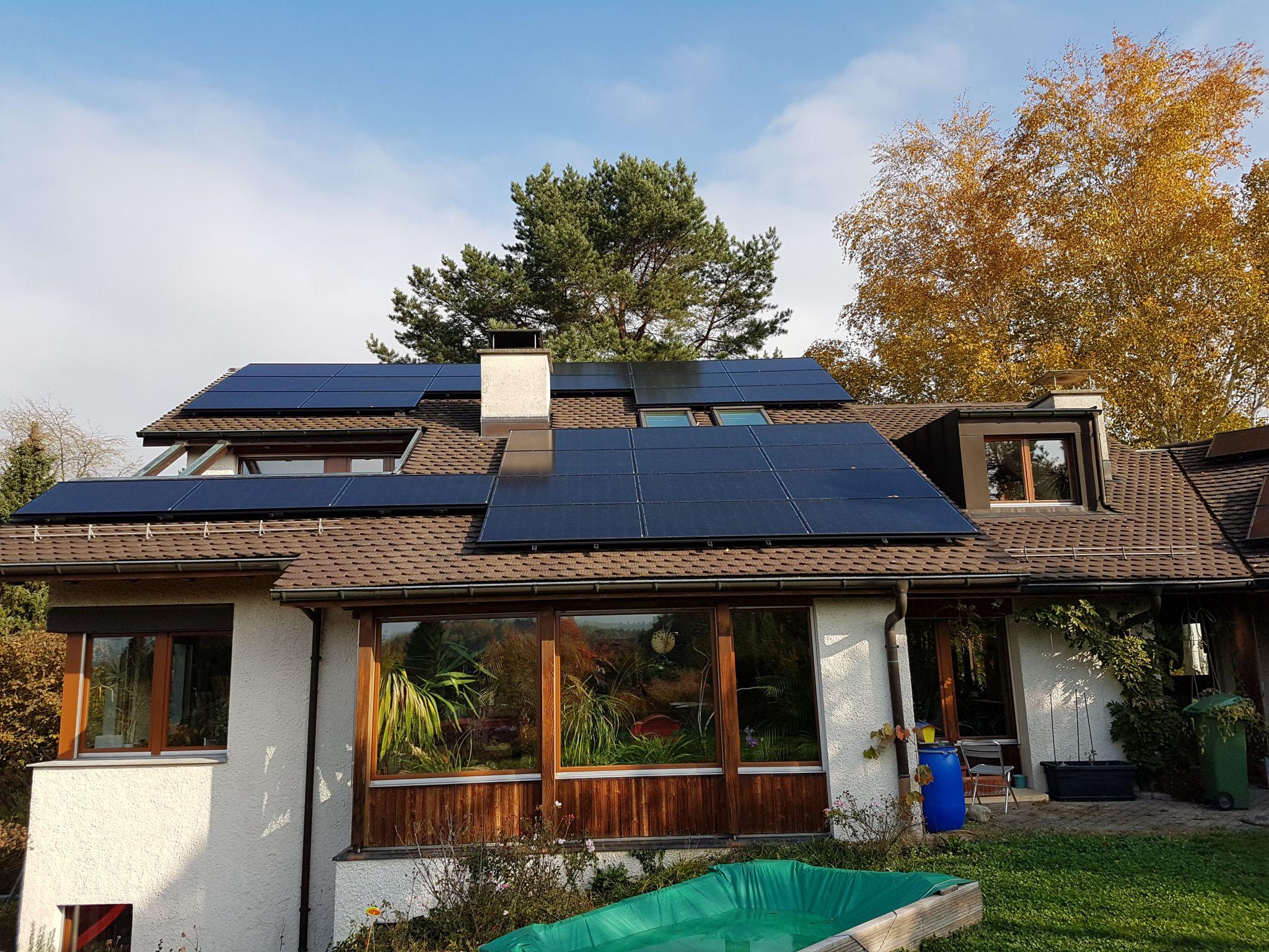 Solaranlage mit Zischenspeicherung Wer to Gas